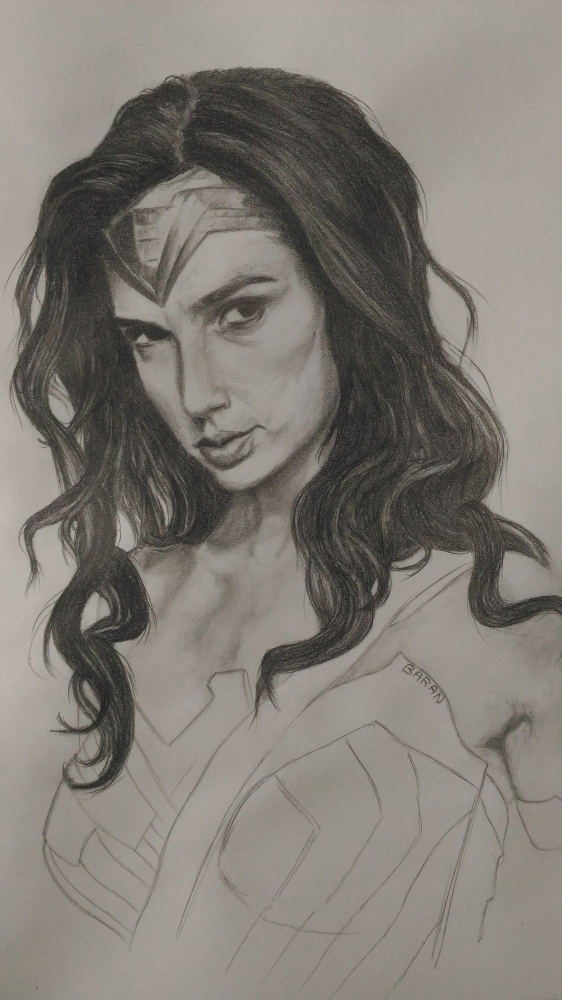 Gal Gadot, Wonder Woman par chanoir
